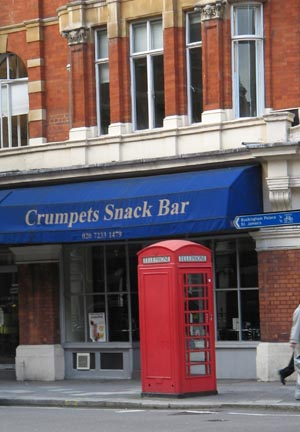 phonebooths and crumpets