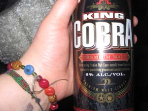 King Cobra-fine malt liquor