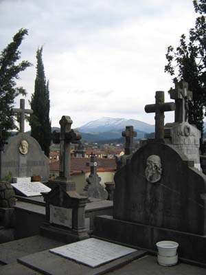 guernica cemetary